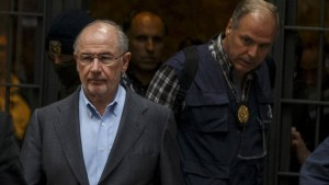 Fue detenido en España el ex ministro de Economía del PP Rodrigo Rato