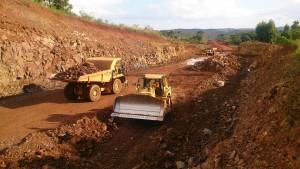 Iniciaron el asfaltado del último tramo de tierra de la ruta nacional 14