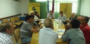 Garay propuso trabajo en conjunto con productores de citrus