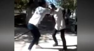 Ahora en San Juan: otra vez dos jovencitas se pelean mientras las graban y una termina inconsciente