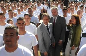 """Scioli: """"Están haciendo historia, son la primera generación de la policía local"""""""