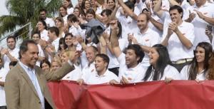 """Scioli: """"La juventud sabe que esta Argentina genera oportunidades"""""""