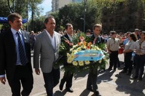 Scioli encabezó en Mar del Plata el acto por el 33° aniversario de la gesta de Malvinas