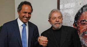 Scioli se reunió con Lula Da Silva