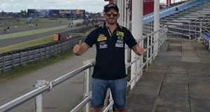 Moto GP: el misionero Adrián Silveira se codea con los grandes del motociclismo en Termas