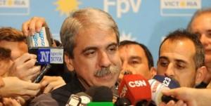 """Aníbal Fernández: """"Recuperamos el segundo lugar y estamos a 5 puntos de quien nos sigue"""""""