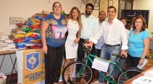 Apoyo a la tradicional Bicicleteada solidaria del Roque que sale hoy a las 13:30