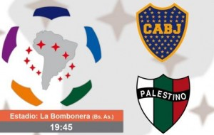 Boca, ya clasificado, recibe a Palestino por la Copa Libertadores