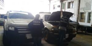 Policías de Garupá secuestraron dos camionetas con pedido de secuestro