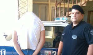 Le robó el celular a una mujer que bajó de un colectivo y lo detuvieron en el centro de Posadas
