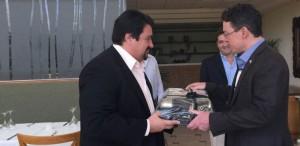Closs se reunió en Iguazú con el embajador de Estados Unidos en  la Argentina