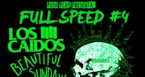 Mañana se realiza la cuarta edición del festival Full Speed, más rápido y ruidoso