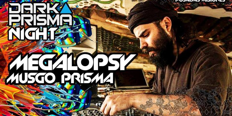 Dark Prisma Night, psicodelia electrónica de nivel internacional, en Posadas