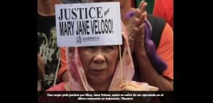 Indonesia: iba a ser fusilada y se salvó faltando pocos minutos porque se entregó la culpable