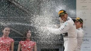 F1: Lewis Hamilton se quedó con el Gran Premio de China