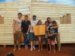 La ONG Techo construirá 35 viviendas de emergencia en asentamientos informales