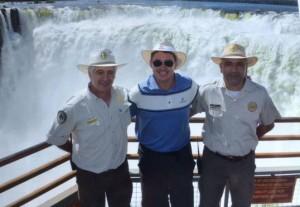 """El embajador de Estados Unidos definió a las Cataratas del Iguazú: """"Una maravilla natural increíble"""""""
