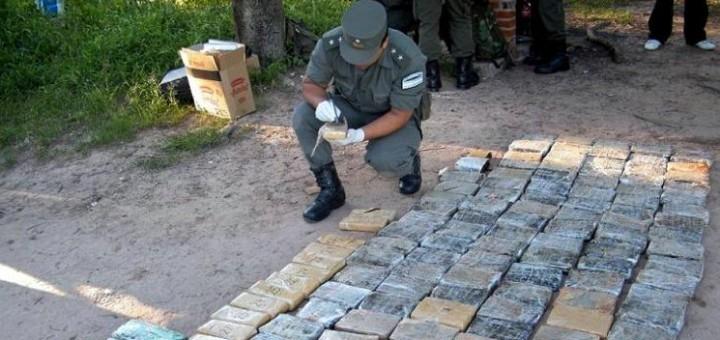 Gendarmería decomisó megacargamento de marihuana en Colonia Victoria: seis toneladas