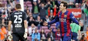 Barcelona imparable: goleó a Getafe con dos de Messi y se afianza en la cima de la Liga