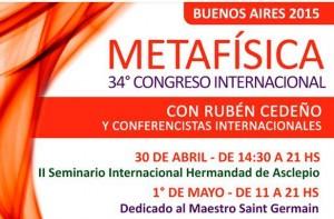 Metafísica: Harán meditación rumbo al Congreso en Buenos Aires