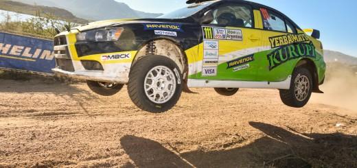 El binomio Bittar-Tomas sigue segundo en la RC2N en el Rally de Argentina