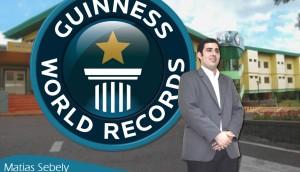 El Guinness World Records confirmó a Matias Sebely como el director de Hospital más joven del mundo