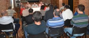 Junto a su equipo técnico, González se reunió con referentes del sector forestal