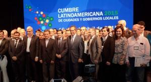 Daniel Scioli inauguró la Cumbre Latinoamericana de Ciudades y Gobiernos Locales, en Mar del Plata
