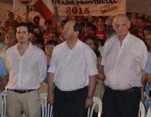 Olvido. Sanz invitó a los candidatos y obvió a González.