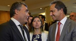 """Scioli junto al presidente del Banco Central: """"Es la hora del desarrollo"""""""