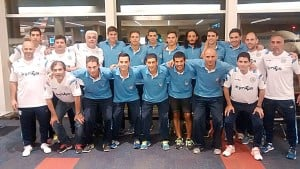 Futsal: La Selección Argentina partió rumbo al XI Mundial en Bielorrusia