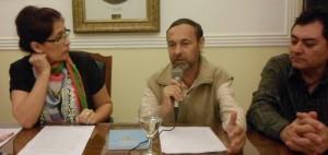 Firman acuerdo de cooperación por un Seguro de Salud para escritores
