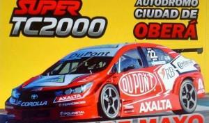 Al final Oberá cambió la fecha del STC2000 para que no esté tan cerca del Turismo Carretera en Posadas