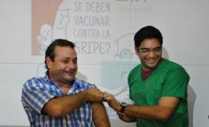 Salud Pública quiere llegar a 250 mil personas con la campaña de vacunación antigripal 2015