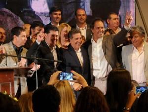 Scioli respaldó a Beder Herrera y Casas en La Rioja