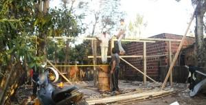 Familia necesita ayuda para terminar reconstrucción de su vivienda incendiada