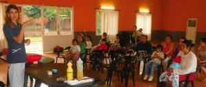 Wanda:  El IPS asistió a sus afiliados con prótesis gratuitas y Hambre Cero continúa capacitando a las madres