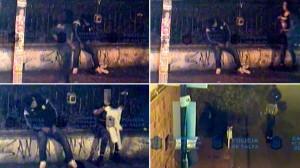 Se quedó dormido y una travesti le robó el buzo: mirá el video