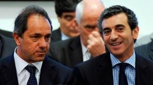 """Scioli, a Randazzo: """"Como buen cristiano doy por cerrado el tema"""""""