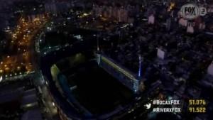 Inesperado corte de luz en la Bombonera a minutos del partido