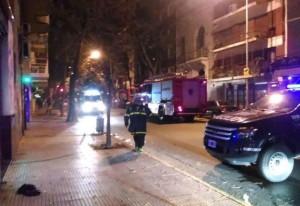 Buenos Aires: se incendiaba el edificio, saltó al vacío desde el séptimo piso y está grave