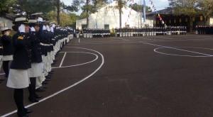 El Liceo Storni celebró un nuevo aniversario de la Armada Argentina