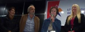 La presidenta de la Feria provincial del Libro fue homenajeada junto a los escritores misioneros en la Feria porteña