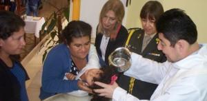 Doce nuevos ahijados sumó la presidenta Cristina en Misiones