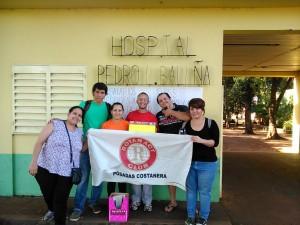El Rotaract Club Posadas Costanera recolecta abrigos para los internos del Hospital Baliña