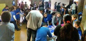 Alrededor de 700 niños exponen hoy sus producciones tecnológicas en el Santa María de las Misiones
