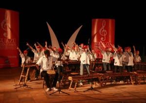 Los sonidos de Las Marimbas sonarán en la primera noche de Iguazú en Concierto