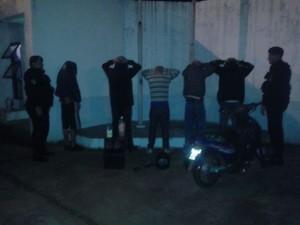 Posadas: seis detenidos por el Comando de la Zona Oeste tras ocasionar desorden en la vía pública