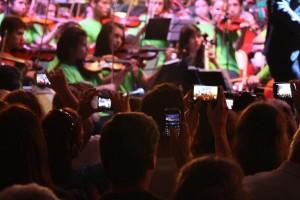 Padres, niños y docentes palpitan el inicio del Iguazú en concierto académico