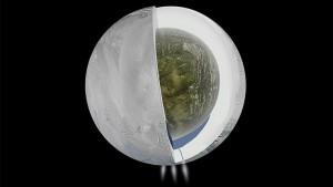 Afirman que puede haber vida en una luna de Saturno